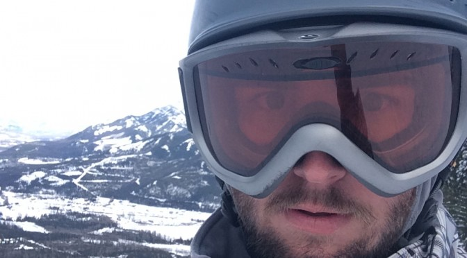 A skiing selfie in Fernie,BC